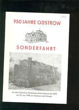 750 Jahre Güstrow Sonderfahrt 1978