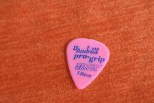 Mediator Guitare Guitar PICK D'Andrea Pro Grip rose 1.0mm