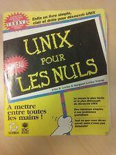 """Livre en français sur UNIX """"UNIX POUR LES NULS"""""""