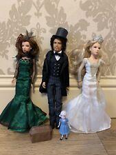Disney Oz The Great & Powerful Doll Set - Evanora Glinda & Oscar Diggs