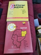 Vintage Telephone Directory East Suburbs Detroit MI 1964 Phone Book Yellow Pages