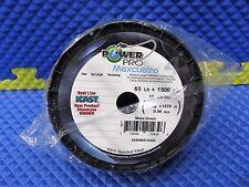 PowerPro Maxcuatro Microfilament Braided Fishing Line 65LB 1500Yds Moss Green