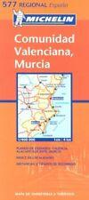 Comunidad Valenciana, Murcia: mapa de carreteras y tur... Sheet map, folded Book