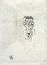 BELLMER HANS GRAVURE 1971 SIGNÉE CRAYON HANDSIGNED ETCHING ÉROTISME SURRÉALISME