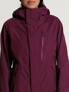2021 NWT WOMENS VOLCOM ARIS GORE-TEX JACKET $270 S Vibrant Purple standard fit