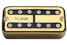 TV Jones Magna'Tron Universal Mount Gold Bridge Pickup