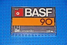 BASF   LH-SM  90  BLACK VERSION  BLANK CASSETTE TAPE (1) (USED)