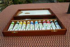 Artist Acrylic Paint Set in Wooden Box