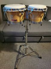 More details for percussion plus - bongo drums & solid stand