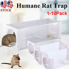 New Humane Mouse Mice Trap Humane Live Catcher Rat Vermin Rodent Cage Traps Pest