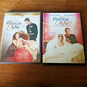 The Prince & Me 1+ 2 THE ROYAL WEDDING Double DVD (Region 1 USA CANADA)