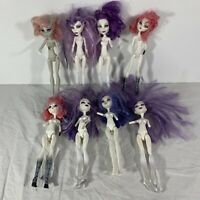Monster High Doll Lot of 8 For OOAK Missing Limbs Arms Legs Parts See Photos