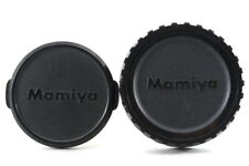 Mamiya 58mm Front / Rear Lens Cap Genuine  for M645 7II 645 AF from Japan Exc++