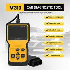 OBDII Car Diagnostic Scanner Fault Code Scan Tester Reader Erase Vehicle Tool