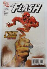 DC Comics The Flash #227 Finish Line Part One Dec 2005 Direct