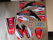 Team Factory Honda Racing graphics  CRF450R CRF450   2002  2003 2004