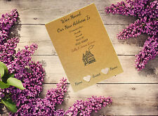 10 Personalised Handmade Change of Address Home House Moving Cards Ac14