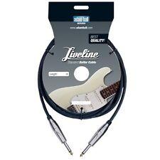 Câble Instrument Liveline 9m - 6,3 mm Jack - 9 Mètres
