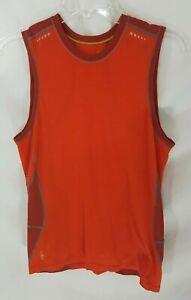 Smartwool Phd Orange Tank Top Shirt Men's M