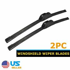 "Windshield Wiper Blades (2pcs) Hybrid 26""+20"" J Hook Beam New Premium"
