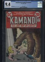 Kamandi, the Last Boy on Earth #7 CGC 9.4 Jack Kirby 1973