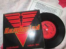 Hawkwind Motorhead/Valium diez flicknife Records FLS 205 Reino Unido 7 in (approx. 17.78 cm) SINGLE VINILO