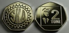SKA MUSIC 2 TONE Collectors Album/Token/Medal .999 Silver. Rude Boy Mod Reggae