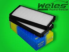 P1189 Innenraumfilter Pollenfilter 2 Stück BMW E70 X5 E71 X6