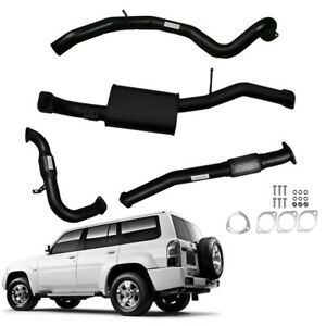 """3""""INCH FULL EXHAUST WITH CAT / MUFFLER TO SUIT NISSAN PATROL WAGON GU 3L TD"""