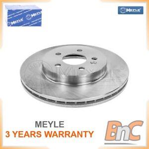 2x FRONT BRAKE DISC MERCEDES-BENZ M-CLASS W163 MEYLE OEM 1634210412 0155212041