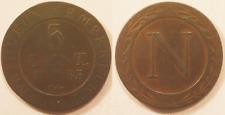 5 Centimes Napoléon I, 1808 BB Strasbourg, Rare !!