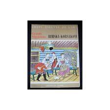 CHEFS-D'OEUVRE DE L'ART n°31 RIMSKY-KORSAKOW  illustré