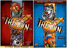 Disney Channel Afternoon Cartoon Series TaleSpin Pilot Baloo Volume 2 & 3 on DVD