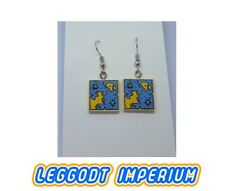 LEGO Custom Dangle Earrings - Pirate Map - FREE POST