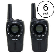 Cobra CXT235 MicroTalk 20 Mile FRS/GMRS 22 Channel 2 Way Walkie Talkie (6 Pack)