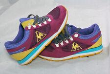 Le Coq Sportif Trainers Retro Purple Sneakers Shoes  UK 5 EU 38 VGC!