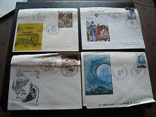 FRANCE - 4 enveloppes 1er jour 1966 1966 1967 1968 (2eme choix) (cy55)
