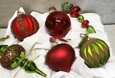 Frontgate Ornaments christmas ornaments boxed set of 6 NEW