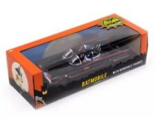 "DC Classic Batmobile with Bendable 3"" figures 60's Batman & Robin Scale 1:24 NEW"