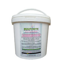 MULTI MITE® 2KG BUCKET DIATOMACEOUS EARTH DE Powder Feed Supplement