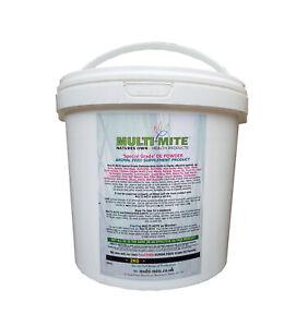 MULTI MITE 2KG Bucket DIATOMACEOUS EARTH DE Powder Feed Supplement