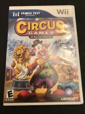 Family Fest Presents: Circus Games (Nintendo Wii, 2008) Complete