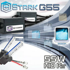 Stark 55W Micro HID Fog Light Slim Xenon Kit - H1 8K 8000K Ice Blue
