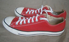 Converse Jack Purcell RED Canvas Sneakers - Men's Size 9.5 Gently worn