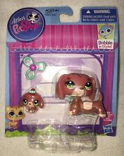 Littlest Pet Shop Mommy Baby Dachshund Brand New - Exact Pets in Photos Shipped