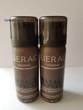 LIERAC Homme Rasage Express Mousse Hydratant Anti-Irritation 2 X 50 ML