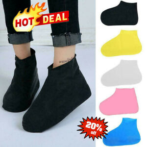 Overshoes Rain Silicone Waterproof Shoe Covers Boot Cover Protector BEST E7L9
