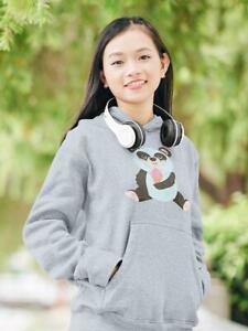Panda Eating Ice Cream Hoodie -Image by Shutterstock