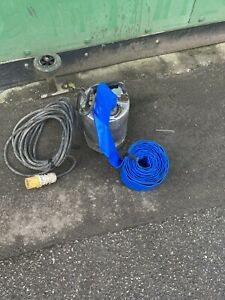 Stainless Steel 110v Water Pump Submersible Pond Flood Pump