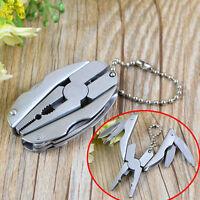 Tragbare Multi-Tools Set Foldaway Schlüsselbund Zangen Messer-Schraubendreher s